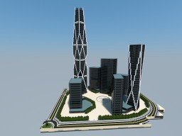 Burj 2020, Dubai Minecraft Map & Project