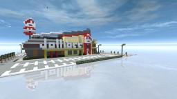 Jollibee, a Filipino Fast Food Minecraft Map & Project