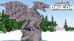Dragon Statue Tutorial (Advanced) Minecraft Project