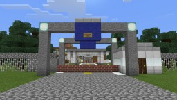 Basic Joint Security Area (Border) (Pocket Edition) Minecraft Project