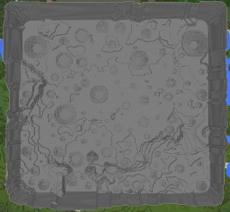 Moonscape custom terrain area Minecraft Map & Project