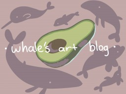 My Art Blog Minecraft Blog Post