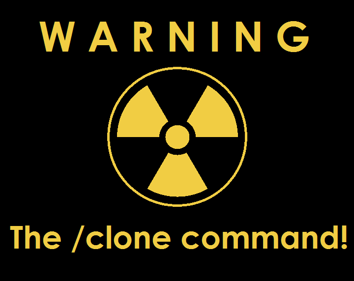 A horrible way using Minecraft commands: /clone Minecraft Blog