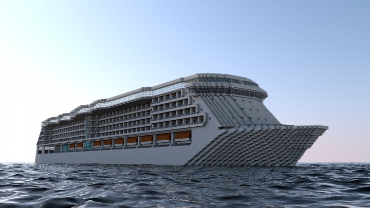 MS Radiance Of The Seas Cruise Ship Minecraft Project - Radiance of the seas