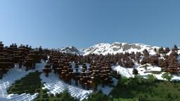 Hyper Realistic Terrain - Mountain Minecraft Map & Project