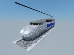 TGV Atlantique (Train à Grande Vitesse) Minecraft Map & Project