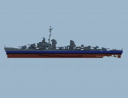 USS Gearing Minecraft Map & Project
