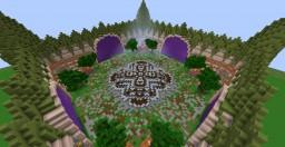 4 Portal Hub Minecraft Project