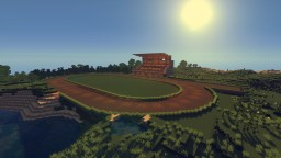 Horse Racecourse Minecraft Map & Project