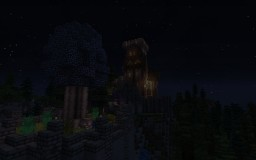 The Frankon Estate - Small medieval castle and village Minecraft Map & Project