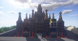 25 Minute Fireworks Castle Minecraft Map & Project