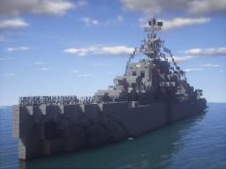 (Original) Monoceros Class Destroyer Minecraft Map & Project