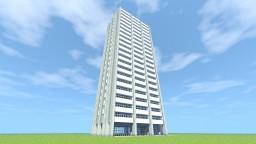 Советский многоэтажный дом/ Soviet high-rise house Minecraft Project