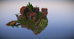 Floating Island City Minecraft Map & Project