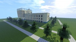 Советский Санаторий/ Soviet sanatorium Minecraft Map & Project