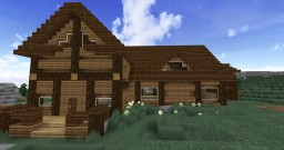 Fancy log cabin [Wisconsin themed home] Minecraft Project