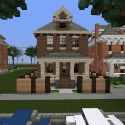 My Traditional House On The World Of Keralis Server Minecraft Project