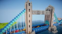 Tower Bridge 1:3 Scale Minecraft Project