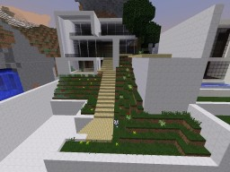 Modern Concept Homes Minecraft Map & Project