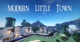 Modern Little Town Minecraft Project