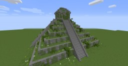 Mayan Temple/House /w download Minecraft Map & Project