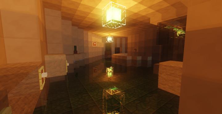 Water Villa Interior Minecraft Project