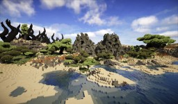 [DP Locations] Desert continent. Presentation. Minecraft Map & Project