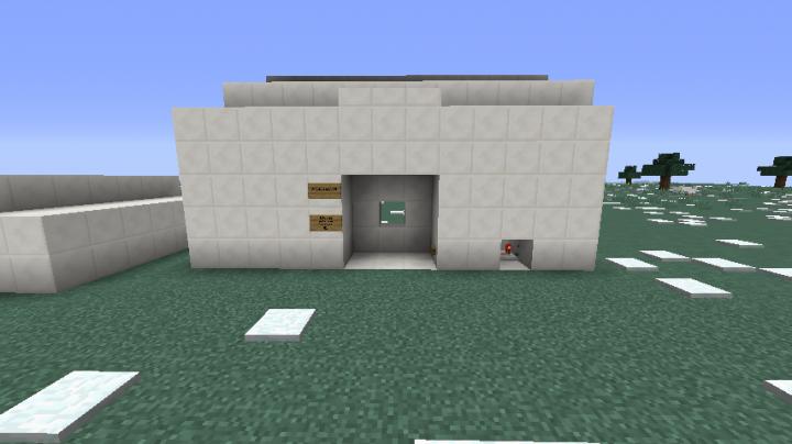 how to make minecraft redstone doors