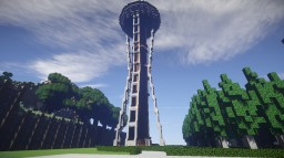 USA - The Space Needle - Not Exact Replica Minecraft Map & Project