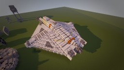 The Ghost - Star Wars Build (2:1 scale) Minecraft Project