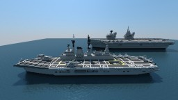 HMS Ark Royal R07 Minecraft