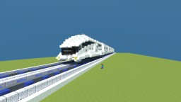 Anno 2070 - Futuristic train Minecraft