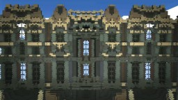 Wooden palace Minecraft
