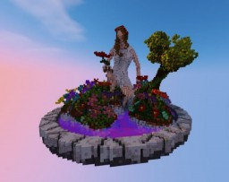 Girl of Nature Minecraft Map & Project