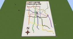 STC Metro | Map / Mapa Minecraft Map & Project
