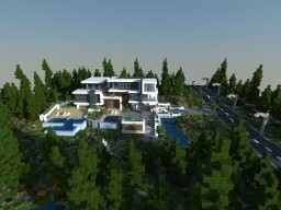 Build Of Majoras | The Modern Climate Of the Forest Minecraft Map & Project