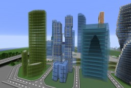 Moscow-City Minecraft Map & Project