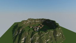 Villagers in a mountain Minecraft Map & Project