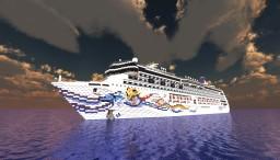Norwegian Spirit - Cruise Ship {1:1 SCALE - EXTERIOR ONLY
