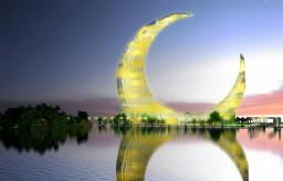 Crescent Moon Tower Dubai Minecraft Map & Project