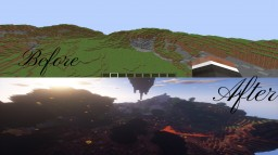 4 Biome Sky Arena (PvP Craft) Minecraft Project