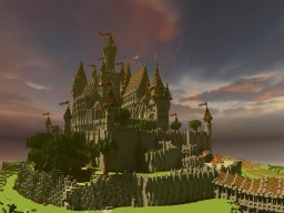 Medieval Gothic Castle: City of Teralis Minecraft