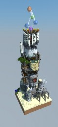 The Robot Tower Plot Minecraft Project