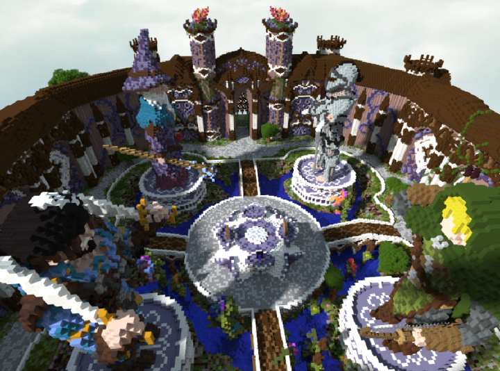 The Creative Realms, Spawn Lobby