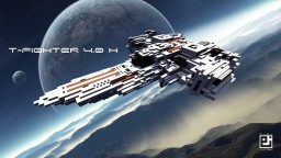 T-Fighter 4.0 H [communication update] Minecraft Map & Project