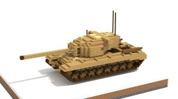 US Heavy Tank T29 (4:1) Minecraft