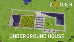 Modern Underground House by Zauer Minecraft Map & Project