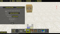 MCEdit Filter Creates Chest With Loot Tables, Lucky Crates, Loot Crates, Sever Crates, No Redstone, No Mods, No Spawners, No Commands, Works In  1.9, 1.10, 1.11+
