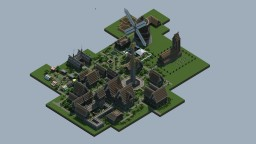 THE WONDERLAND OF GIANT  [+50,000] Blocks  + DOWNLOAD Minecraft Map & Project