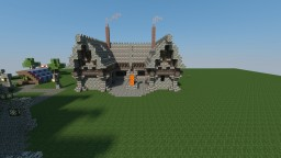 Medieval city UPDATE: stable and blacksmith Minecraft Map & Project